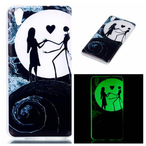 Cover Case for Huawei Honor 5A  Moon Lovers Soft TPU Thin Transparent Noctilucence Cover Shell Case - COLOUR