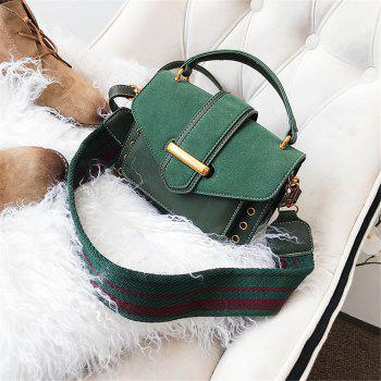 Small Female Wild Messenger Shoulder Bag Fashion Atmosphere Square Package - GREEN