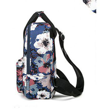 Kid's Bag Colorful hand Painted Pattern Portable Casual Travel Computer Bag - ORCHID