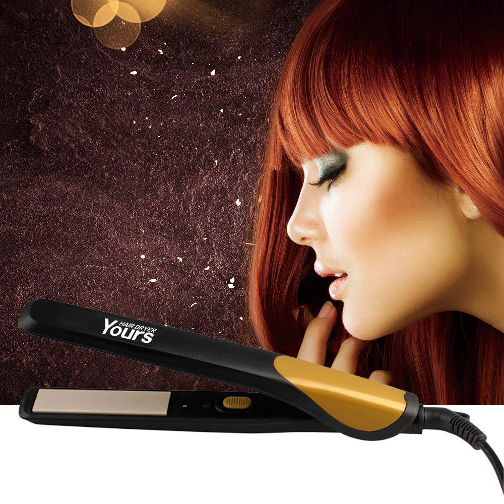 Hair Straightener Curly Straight Volume Dual-Use Versatile - GOLDEN