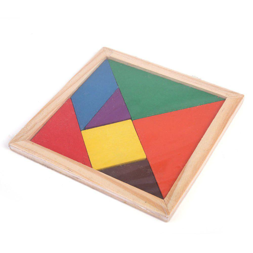 Early Childhood Educational Toys Tangram Building Blocks выпрямитель волос bosch phs2101b