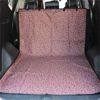 High Quality Waterproof Pet Dogs and Cats Cover Pets Carpet Cover Car Trunk Mat Mat - COFFEE