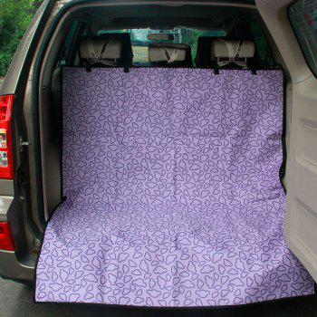 High Quality Waterproof Pet Dogs and Cats Cover Pets Carpet Cover Car Trunk Mat Mat - GREEN
