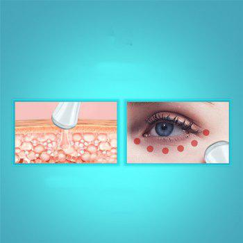 WIKILEKS Vibrating Iontophoresis Instrument Electric Eye Removal Bags Beauty Eyebrow Ion Beauty Instrument - WHITE