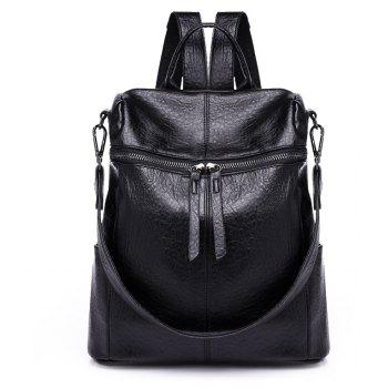 Female Backpack New Soft Leather Shoulder Bag