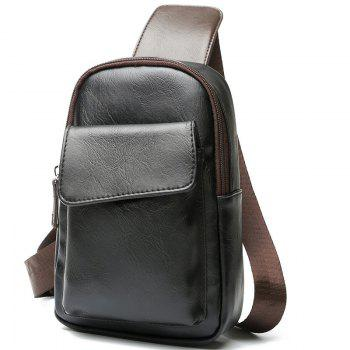 Chest Pack Men s Leather Crossbody Bag