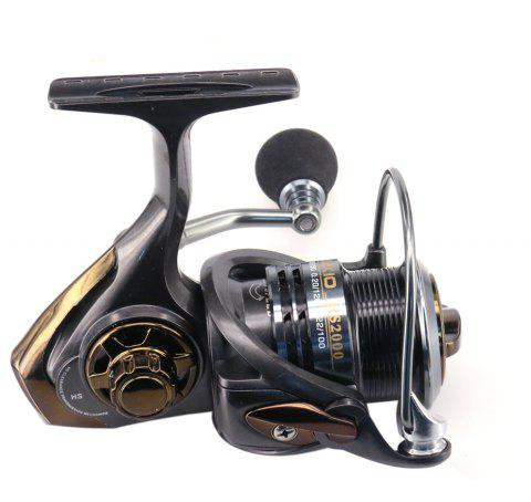 Fishing Reel HS2000/3000 Aluminum MatchSpool With High Ratio Spinning Reels - GRAY