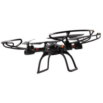 Cloudrover 2.4G RC Drone RTF with 6-axis Gyroscope / 360 Degree Rotation / Headless Mode - BLACK 29X29X10