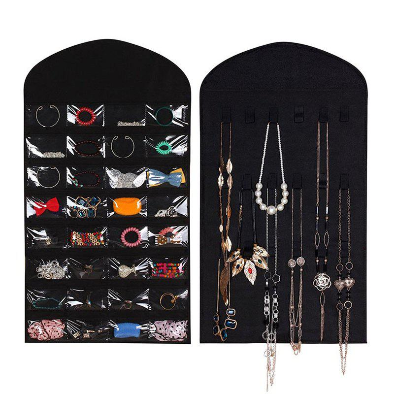 2018 Large Hanging Storage Bag Jewelry Holder Necklace Bracelet