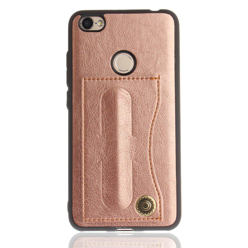 Case Cover for Xiaomi Redmi Note 5A / Note 5A Prime Luxury PU Leather with Stand and Card Slots - ROSE GOLD
