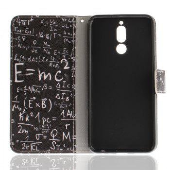 Cover Case for Mate 10 Lite / Maimang 6 Formula PU+TPU Leather with Stand and Card Slots Magnetic Closure - BLACK