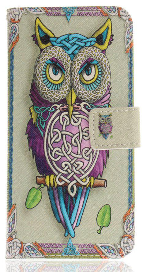 Cover Case for Mate 10 Lite / Maimang 6 Nova 2I Owl PU+TPU Leather with Stand and Card Slots Magnetic Closure - COLORMIX