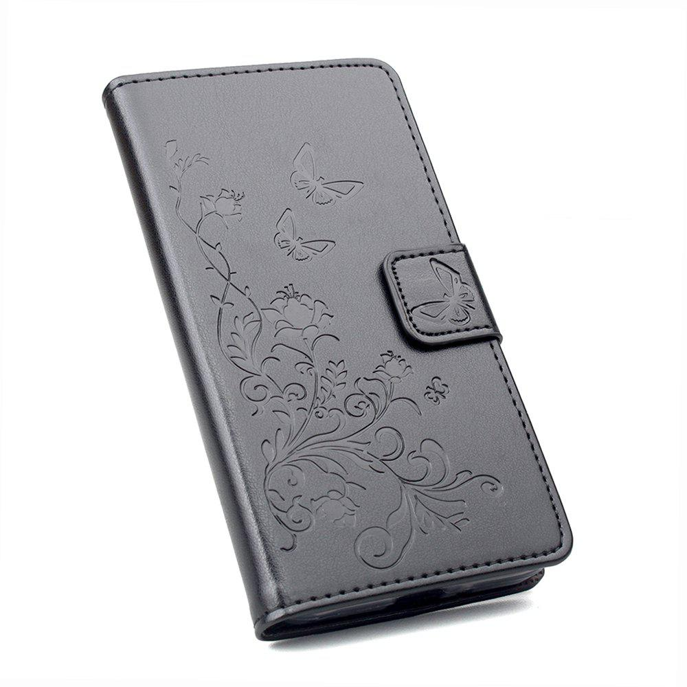 new style 19a0d eeb93 Flip Cover For Vodafone Smart Ultra 7 Phone Wallet Leather MobiLe Phone  Holster Case
