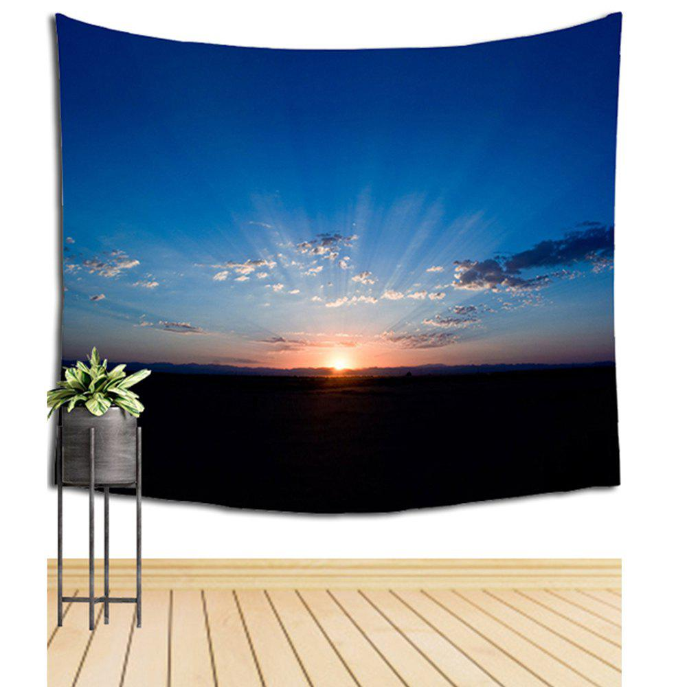 Sunrise Landscape Wall Hanging Tapestry Indoors And Outdoor Furnishings - COLORMIX W39.4INCH*L59.1INCH