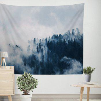 Cloud Forest Landscape Tapestry Wall Carpet Beach Blankets - COLORMIX W39.4INCH*L59.1INCH