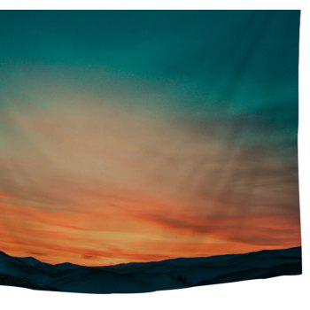 Scenery Wall Decoration Tapestry Outside Beach Blanket - COLORMIX W39.4INCH*L59.1INCH