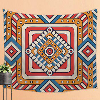 Retro Pattern Tapestry Wall Hanging Decoration Sofa Beach Blankets - COLORMIX W39.4INCH*L59.1INCH