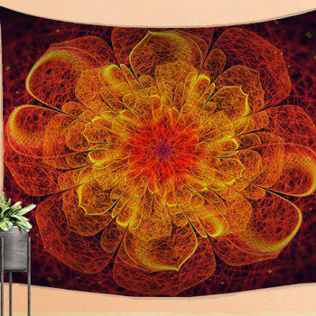 Flame Pattern Tapestry Wall Hanging Decorated with Sofa  Beach Blanket - COLORMIX W39.4INCH*L59.1INCH