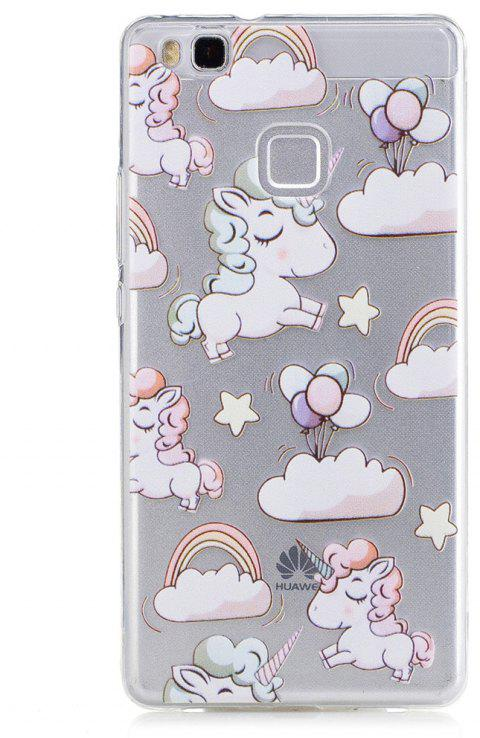 Unicorn Pattern TPU Silicone Gel Soft Clear Case Cover for Huawei P9 Lite /G9 Lite - UNICORN
