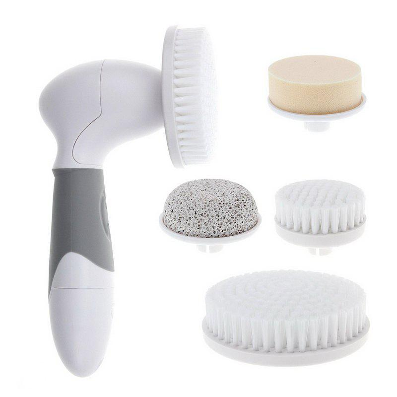Pro Spin Brush for Perfect Skin - Face and Body - GRAY
