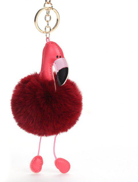 Cute Creative Animal Keychains - BURGUNDY 16 X 12 CM