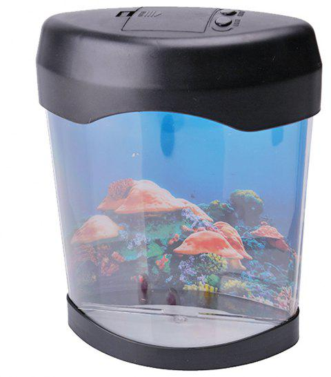 LED Artificial Jellyfish Aquarium - BLACK