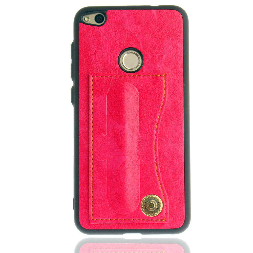 Leather Bracket Insert Card Cell Phone Shell For Huawei P9 Lite 2017 Cases Cover Extravagant Fashion Phone Case - SANGRIA