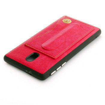 Leather Bracket Insert Card Cell Phone Shell for Nokia 3 Cases Cover Extravagant Fashion Case - SANGRIA