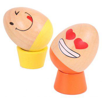 Cartoon Eggs Stacked High Toy - COLOUR