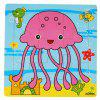 Children Jigsaw Puzzle Toy Octopus - COLORMIX
