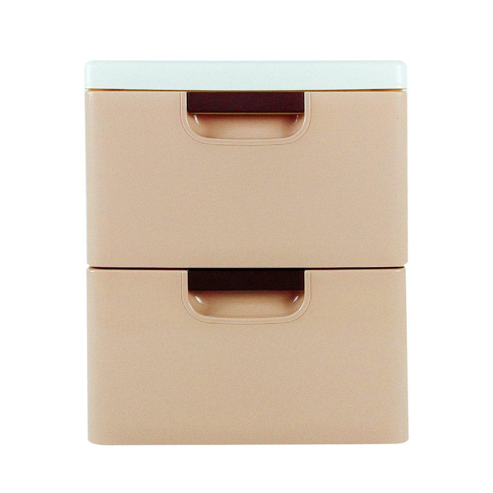 Chest of Drawers storage Box Baby Toys The Wardrobe - YELLOW