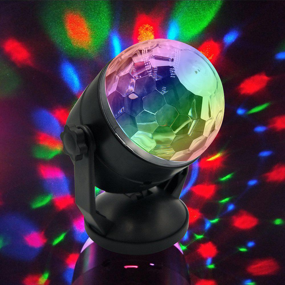 BRELONG  Crystal Magic Ball Stage Lights KTV Bar Night Light Atmosphere - RGB