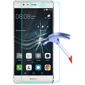 Screen Protector for Huawei P9 Plus High Sensitivity HD Full Coverage High Clear Premium Tempered Glass - TRANSPARENT