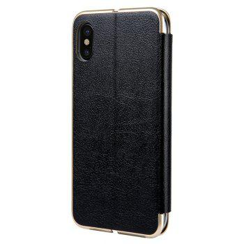 Clamshell Bracket Holster for iPhoneX - BLACK
