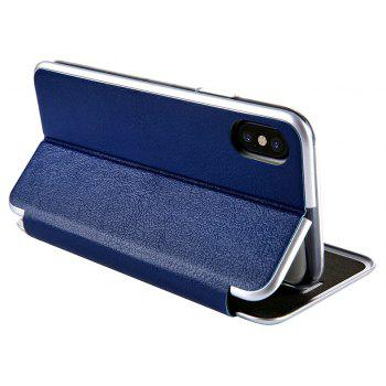 Clamshell Bracket Holster for iPhoneX - BLUE