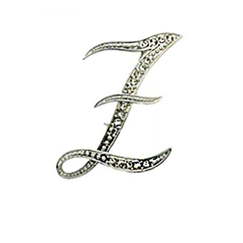 New Design of Crystal Brooch  Fashion Classic Charm Accessories Letters for Woman - ZOO