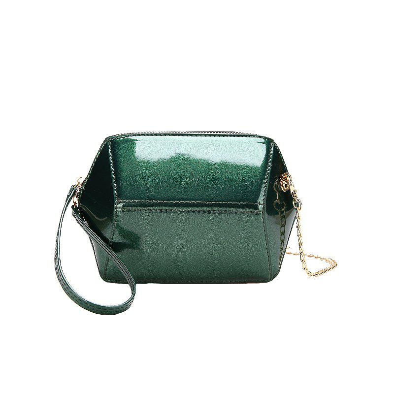 Fashion Wild Handbag Shoulder Messenger Bag - GREEN