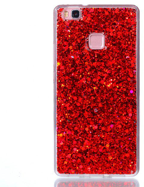 Case for Huawei P9LITE Flash Soft TPU Phone Case - RED