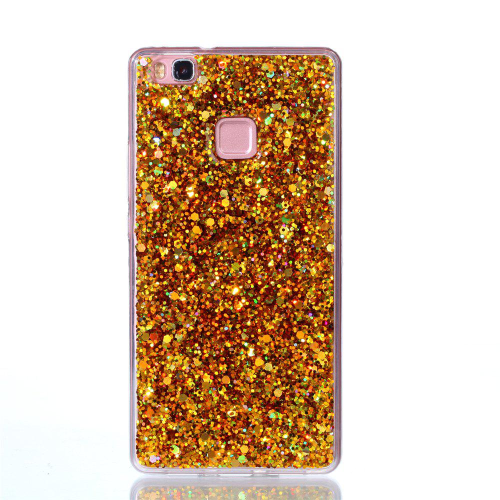 Case for Huawei P9LITE Flash Soft TPU Phone Case - GOLDEN