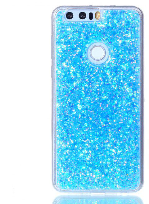 Case For Huawei Honor 8 Luxury Flash Soft TPU Phone Case - BLUE