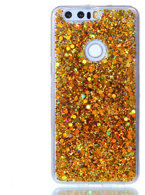 Case For Huawei Honor 8 Luxury Flash Soft TPU Phone Case - GOLDEN