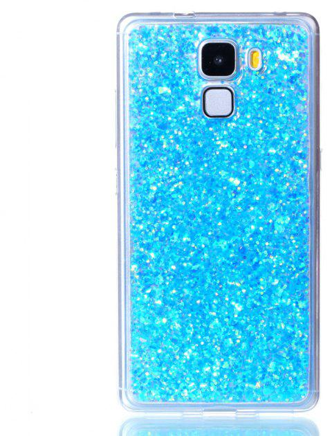 Case For Huawei Honors 7 Luxury Flash Soft TPU Phone Case - BLUE