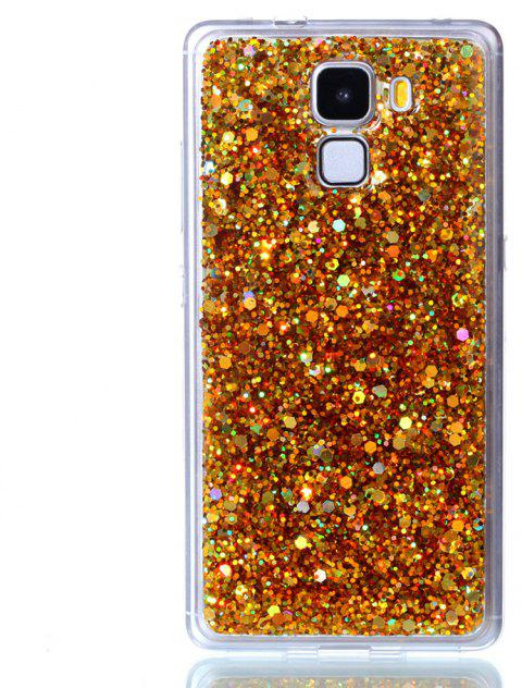 Case For Huawei Honors 7 Luxury Flash Soft TPU Phone Case - GOLDEN
