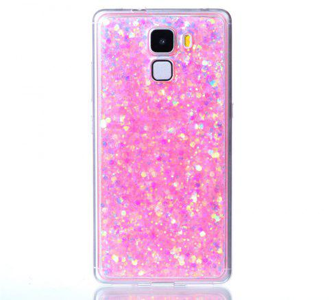 Case For Huawei Honors 7 Luxury Flash Soft TPU Phone Case - PINK