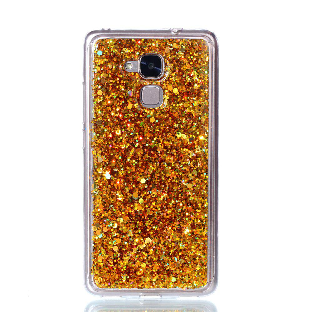 Phone Case For Huawei  Honor 5C Luxury Flash Soft TPU Phone Case - GOLDEN