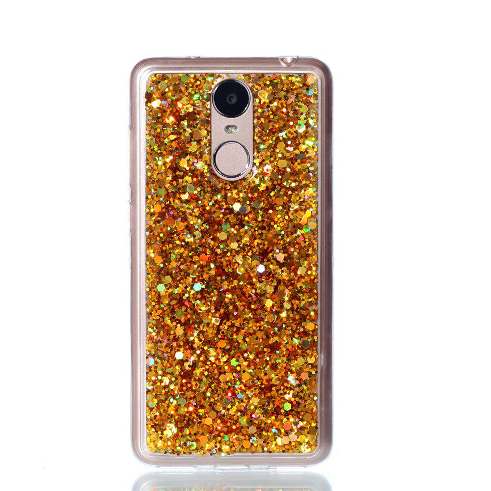 Phone Case for Huawei Enjoy 6  Luxury Flash Soft TPU Phone Case - GOLDEN