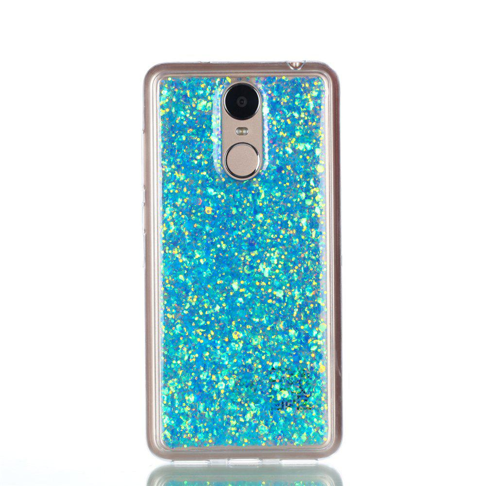 Phone Case for Huawei Enjoy 6  Luxury Flash Soft TPU Phone Case - BLUE