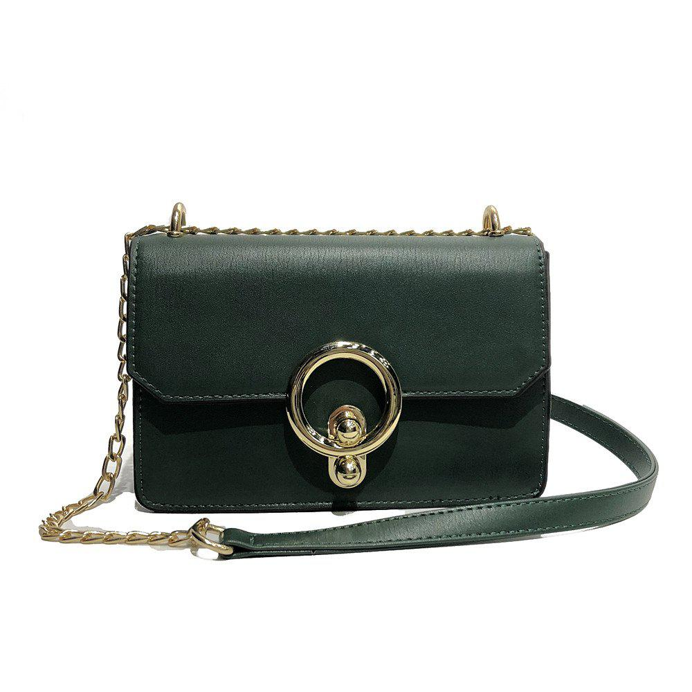 Messenger Small Handbags Fashion Personality Shoulder Bag - GREEN