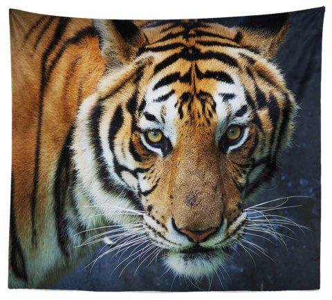 HD Digital Print Animal Portrait Lion Tiger Tapestry Beach Towel Multi-Specification - multicolor W59 INCH * L79 INCH