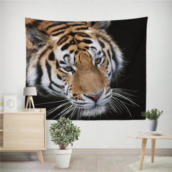 HD Digital Print Animal Portrait Lion Tiger Tapestry Beach Towel Multi-Specification - COLORFUL W51 INCH * L59 INCH